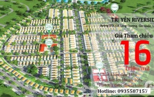 Sống Chung Cư Lo Sợ Cháy Nổ-Đầu Tư Ngay Đất Nền Nam Sài Gòn Chỉ 1,5 tỷ- CK 16%; LH 0935587157