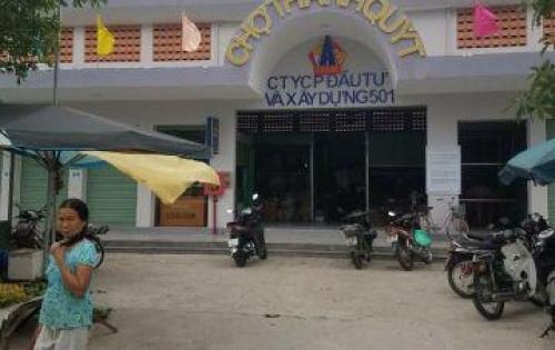 Khu phố chợ Điện Thắng Trung, view chợ thích hợp kinh doanh