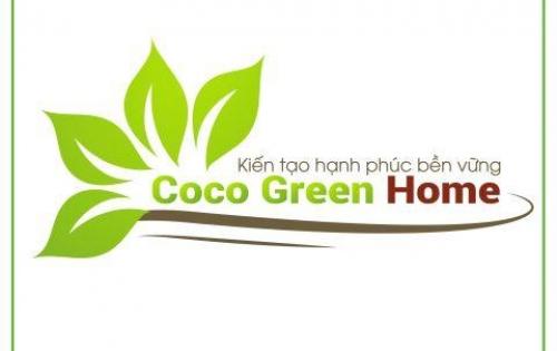 Coco Green Home- giá ưu đãi, chỉ 449 triệu/nền