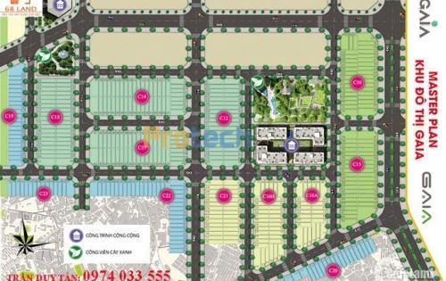 Đất nền khu đô thị GAIA CITY, cạnh CocoBay Đà Nẵng, chiết khấu cao, 4 tháng ra sổ. Lh: 0974 033 555