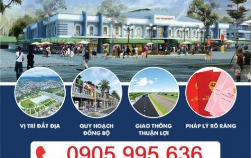 Dự án HOT, Khu chợ mới THANH QUÝT, ĐIện Thắng Trung