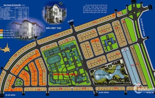 Cần tiền đầu tư  bán gấp lô O3-44 thuộc khu đô thị số 3