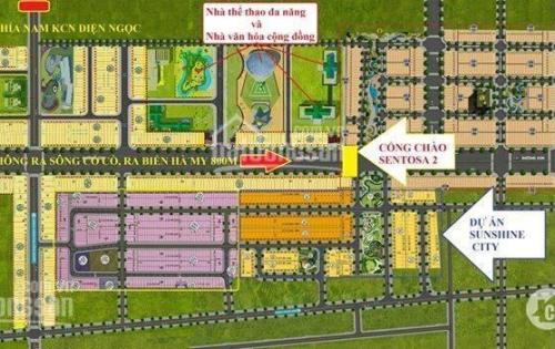 Dự án  SunShine City nơi hội đầu tư đất nền ven sông Cổ Cò giá chỉ từ 729tr/nền