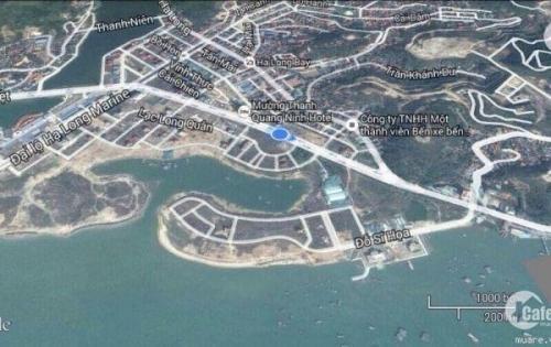 Bán đất 300m2 view hồ  đẹp nhất khu đô thị Cái Dăm ,Hùng Thắng 0924101993