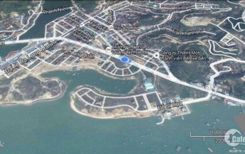Bán đất 300m2 view hồ  đẹp nhất khu đô thị Cái Dăm ,Hùng Thắng 01292233222
