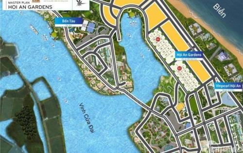 Bán đất dự án hội an GRADENS gần ngay biển cữa đại