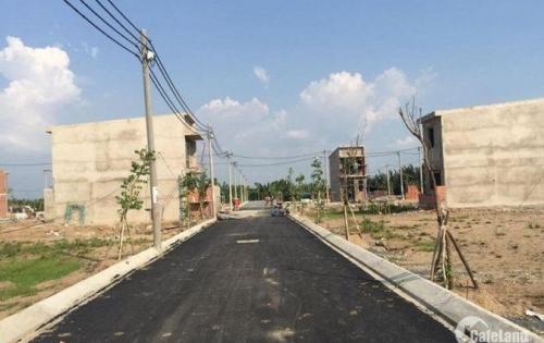 Đất mặt tiền đường T7, Bình Chánh, gần chợ Thuận Đạt, SHR, thổ cư 100%. Lhệ: 0938.870.696
