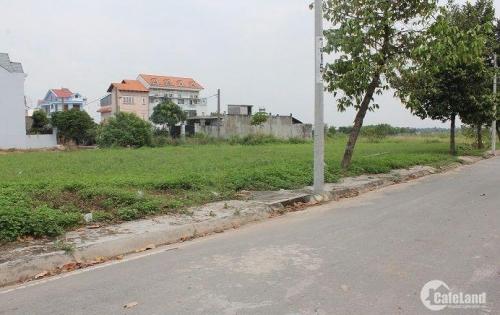 Thanh lý nền đất 100m2 ngay chợ Bình Chánh, Đất Thật - Sổ Thật, mua LH