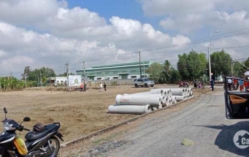 Bán lỗ nền đất mặt tiền QL22, Tân An Hội, Củ Chi, chính chủ 120m2/390tr