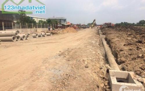 Bán đất giá rẻ 83m2 mặt tiền trung tâm huyện Củ Chi 1,3 tỷ