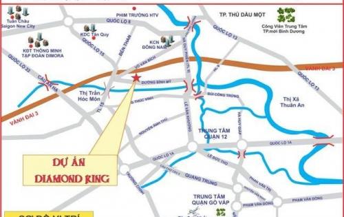 Bán đất sổ hồng riêng khu dân cư mới Võ Văn Bích,Bình Mỹ,Củ Chi 81m2