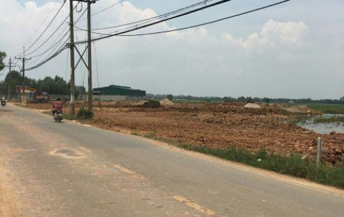 Bán gấp nền đất thổ cư 5x18m, Võ Văn Bích, Củ Chi, 450 triệu/nền,