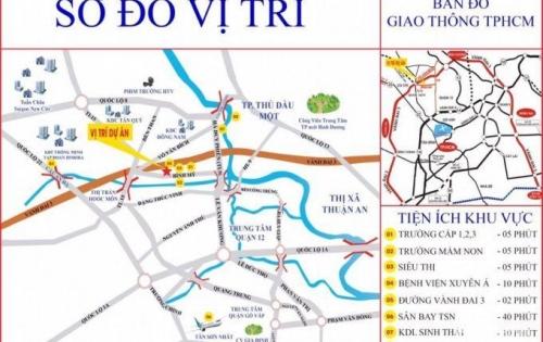 Sở hữu ngay đất mặt tiền đường Võ Văn Bích, Củ Chi chi với 500Tr (40%) tại sao không?