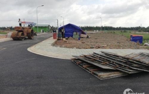 Đất mặt tiền gần quốc lộ 22, mở bán dự án Golden City, hỗ trợ trả góp không lãi suất, SHR,XDTD