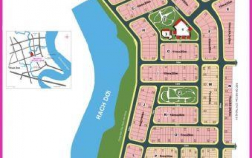 Cần Tiền bán gấp lô Đất Biệt Thự Dãy L, dự án KDC Phú Xuân-Hồng Lĩnh, diện tích 200m2 đường nội khu 14m, giá chỉ 18tr/m2.