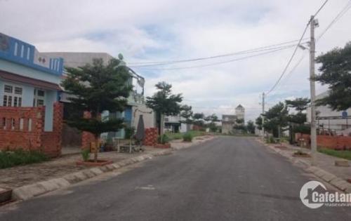 Bán lô đất MT Phạm Hữu Lầu gần chợ Phú Xuân, Nhà Bè, SHR, dân cư đông, giá rẻ nhất khu vực
