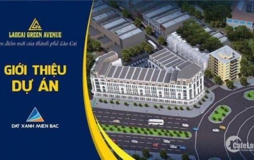 Bán nhà phố vị trí đắc địa bậc nhất tp Lào Cai, Giá chỉ từ 9 tỷ/ lô