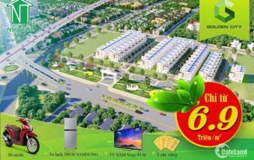 Siêu sốc! Chỉ 690tr sở hữu nền nhà phố mặt tiền Quốc Lộ 55 (30m) sổ đỏ riêng, XD tự do