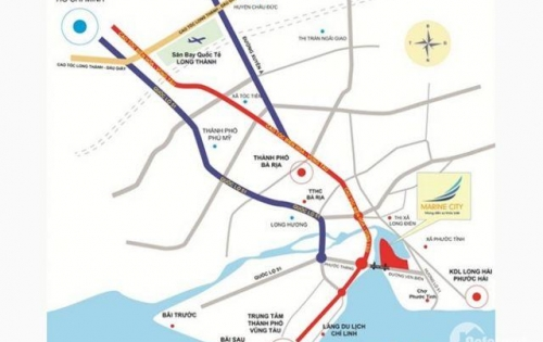 Chỉ còn gần 30 đất nền trên tổng số 952 nền dự án Marine City Vũng Tàu , Nhanh Tay Kẻo Hết........
