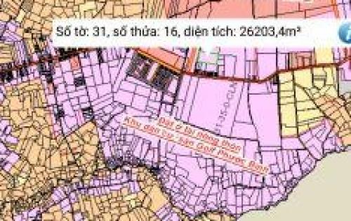 Đầu tư sinh lời ngắn hạn chỉ với 289tr, sở hữu lô đất mặt tiền đường Liên tỉnh
