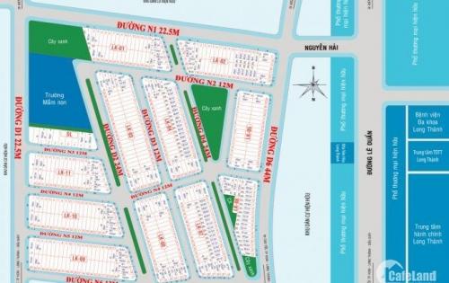 Đất nền trung tâm thị trấn Long Thành, chỉ 12tr/m2 lợi nhuận 40% năm