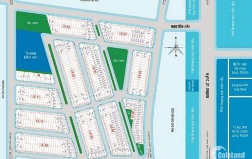bán đất nền mt đường QL 51 ngay sân bay quốc tế long thành, SHR, thổ cư 100% lh 0933645918