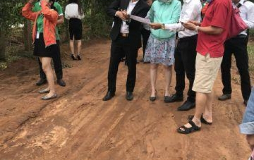 Bán đất gần sân bay Long Thành,KCN Gò Dầu,100m2 SHR thổ cư 100% giá chỉ 289tr/lô