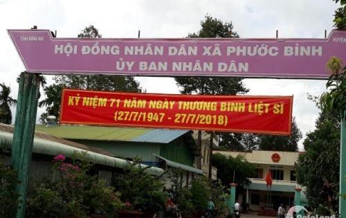 Dự án mới 100%, nằm mặt tiền đường Phước Bình, giá từ 290tr/nền