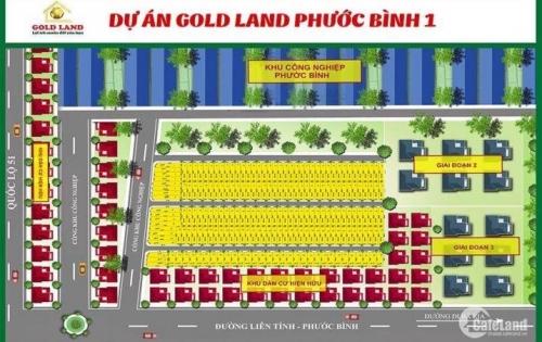 Bán lô 5x20 ngay khu công nghiệp Phước Bình, giá đầu tư, chiết khấu cao, sinh lời nhanh