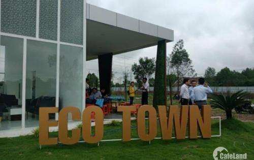 cần bán gấp 2 lô đất MT đường 44m dự án ECO TOWN long thành ngay TTHC huyện, SHR thổ cư 100% lh 0933645918