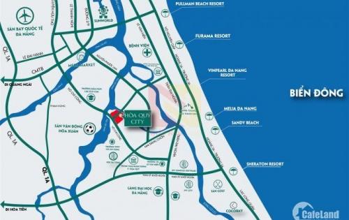 Đất nền khu phố kiểu mẫu ven sông trung tâm TP. Đà Nẵng – Mặt tiền 8m-Đất hòa quý