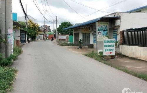 Đất thổ cư kinh doanh mặt tiền đường Vườn Lài, DT: 6,1m x 10m.