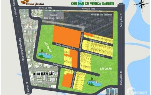 vennica garden- cơ  hội đầu tư có 1 không 2 tại khu đất vàng đường đào trí quận 7