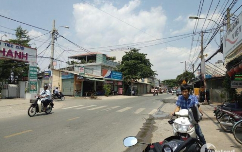 Góc 2 MT 1517m2 Nguyễn Văn Tăng gần chợ Long Thạnh Mỹ,q9