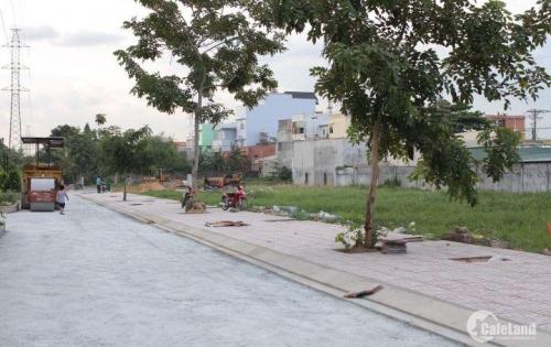 Đất thổ cư MT đường Nguyễn Cửu Phú Bình Tân, SHR