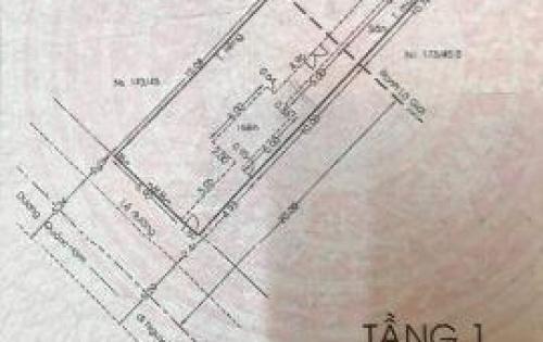 Bán lô đất  mặt tiền cực đẹp đường Dương Quảng Hàm, p6, Gò Vấp, 7.5x35 giá 18,5tỷ.
