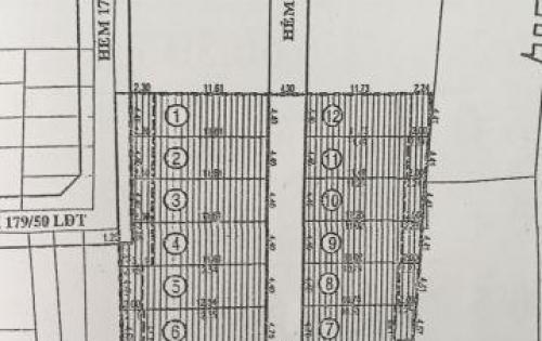 Tổng hợp ĐPL hẻm 38 Gò Dầu giá chỉ từ 4.2 tỷ/1 lô