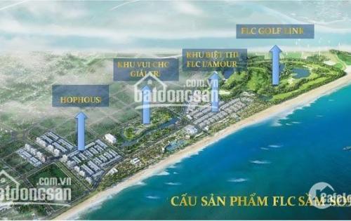 Chính chủ bán  đất nền liền kề  FLC Sầm Sơn, LH0969 969 465