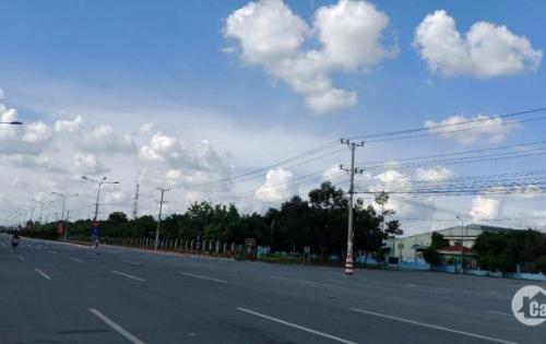 Bán đất mặt tiền16m giá rẻ chỉ 330 triệu nằm ngay khu công nghiệp và đối diện chợ Đất Cuốc