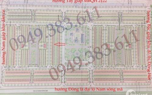 Chính chủ cần bán nhanh lô D76 MBQH 934, P. Đông Hải, TP. Thanh Hóa