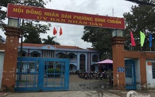 Bán đất mặt tiền Thủ Khoa Huân,Bình Chuẩn,Thuận An giá rẻ vị trí kinh doanh thuận lợi gần chợ,trường học,ngân hàng LH:0976.105.788