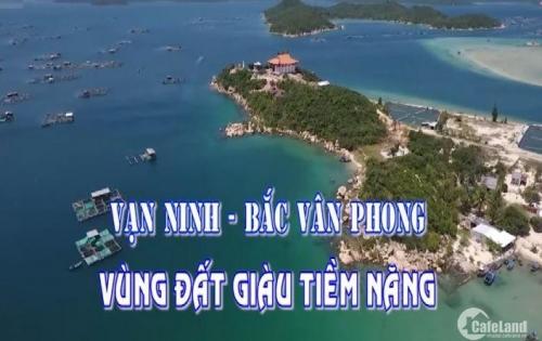 Đầu tư ngay đất Vịnh Bắc Vân Phong chỉ với 2,8triệu/m2.