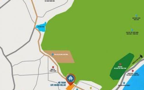 Bán đất nền Villas mặt tiền DT328 cách Hồ Tràm 500m. 0909 849 459 Mr. Tuấn