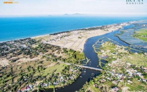 đất biệt thự nghĩ dưỡng,khách sạn,homestay view sông Hội An Mansion,DT 284m2 giá chỉ 30tr/m2