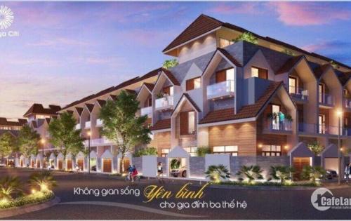 Nhà phố liên kế 1 trệt, 2 lầu, ST khu đô thị kiểu mẫu Barya Citi Bà Rịa Vũng Tàu