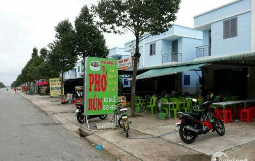 nhà phố đối diện trung tâm thương mại khu công nghiệp Bàu Bàng
