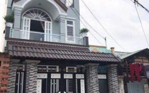 Bán nhà dân 1 trệt 2 lầu đường Nguyễn Văn Tuôi quốc lộ 1A 1 tỷ 5 SHR