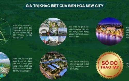 Đất sổ đỏ chỉ với 10 tr/m2 ngay TP Biên Hòa, thanh toán theo tiến độ 10%. LH đặt chỗ 0903681815