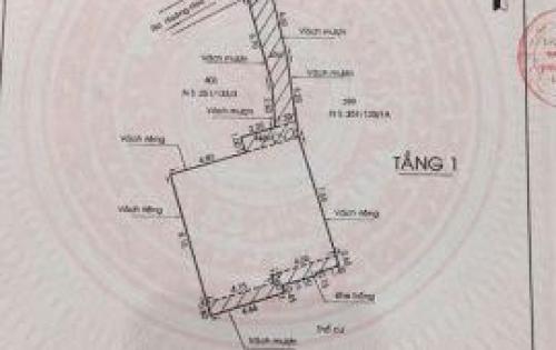 Bán căn nhà 1 trệt 2 lầu ( Xây như biệt thự)  – Đường Hoàng Hoa Thám, Quận Bình Thạnh