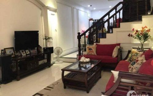 Bán nhà mới đẹp lung linh Phương Mai 38 m2,6 tầng,oto, mặt tiền 4.6 m, giá 4,3tỷ.